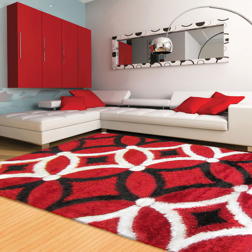 Shaggy Luxury Collection 6048 Red