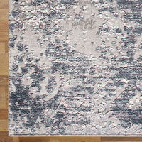 Siena Saturn Smoke Runner Rug