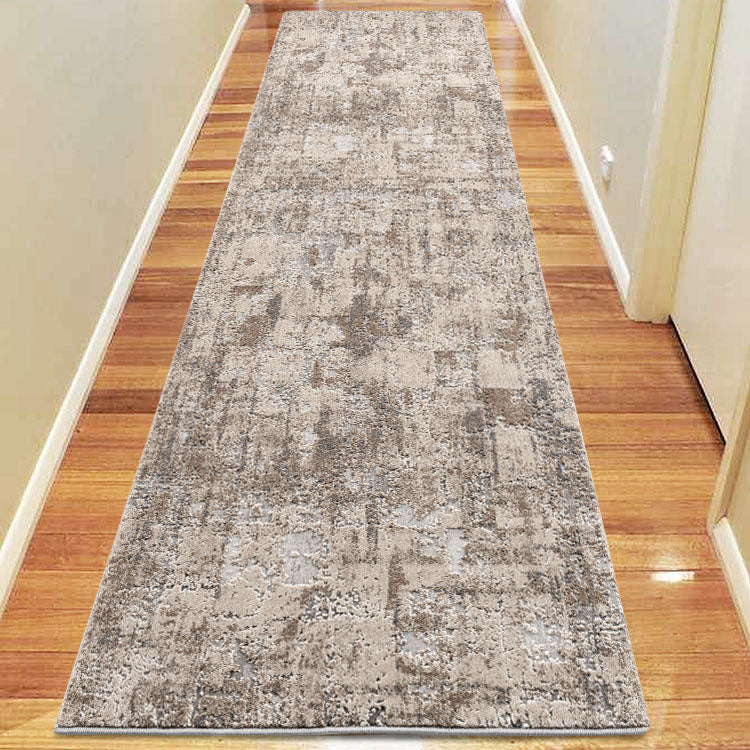 Siena Orb Grey Runner Rug