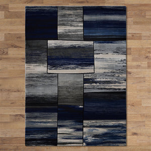 Sungate Quad Grey Blue Rug