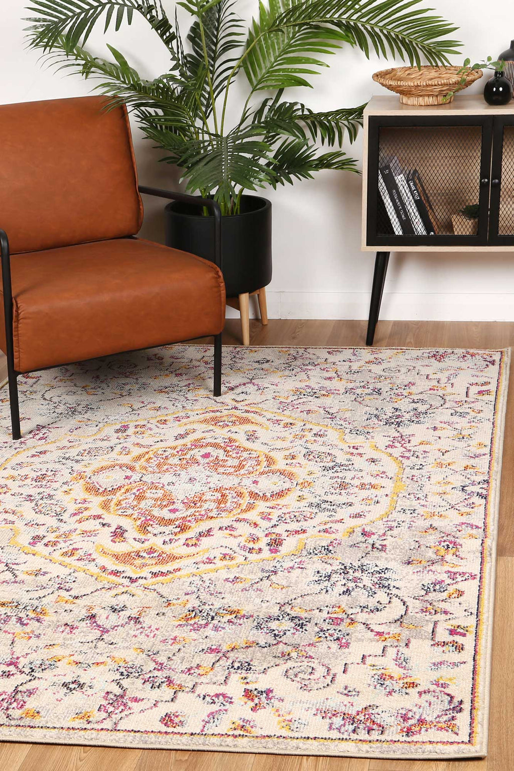 Micah Sunset Traditional Multi Rug