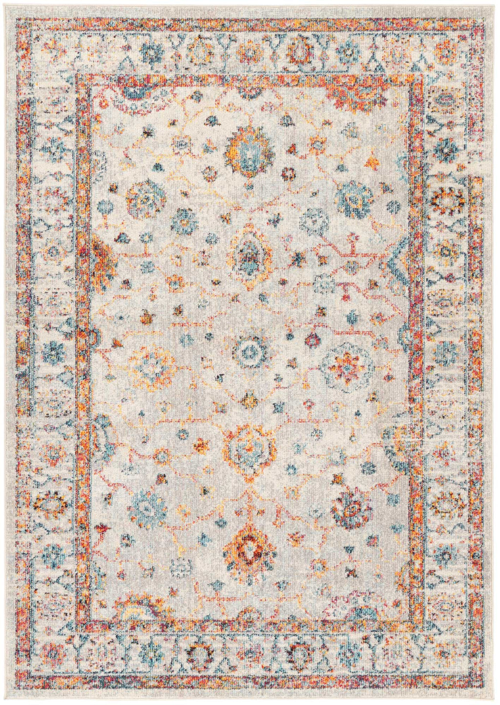 Micah Multi Sunset Traditional Rug