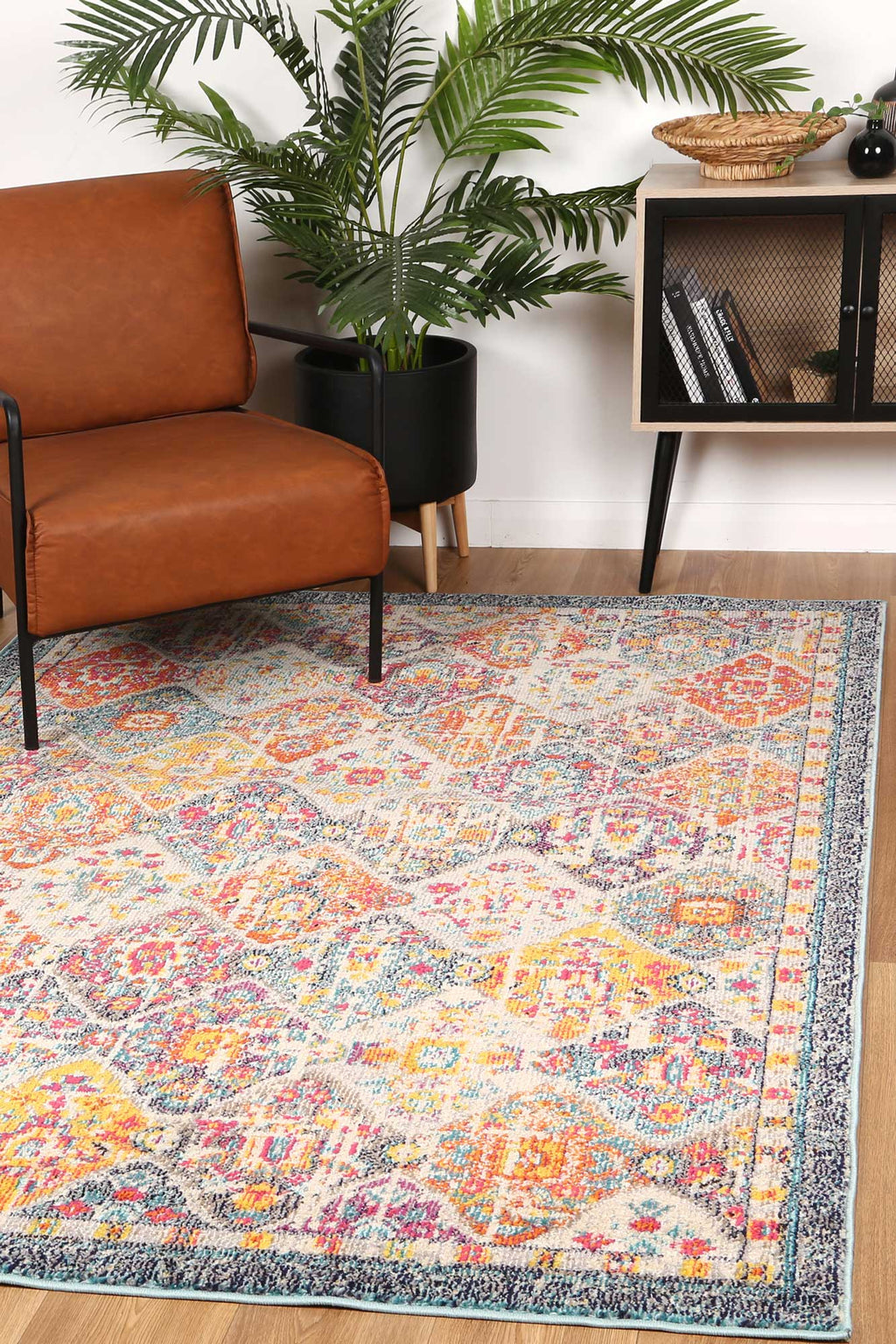 Micah Multi Lattice Rug