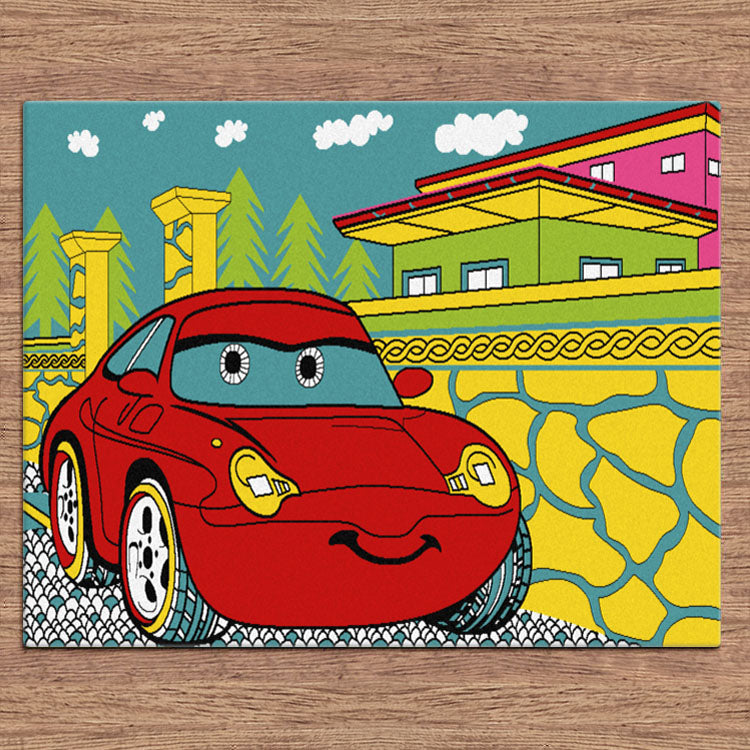 TrendyKids Car Multi Rug