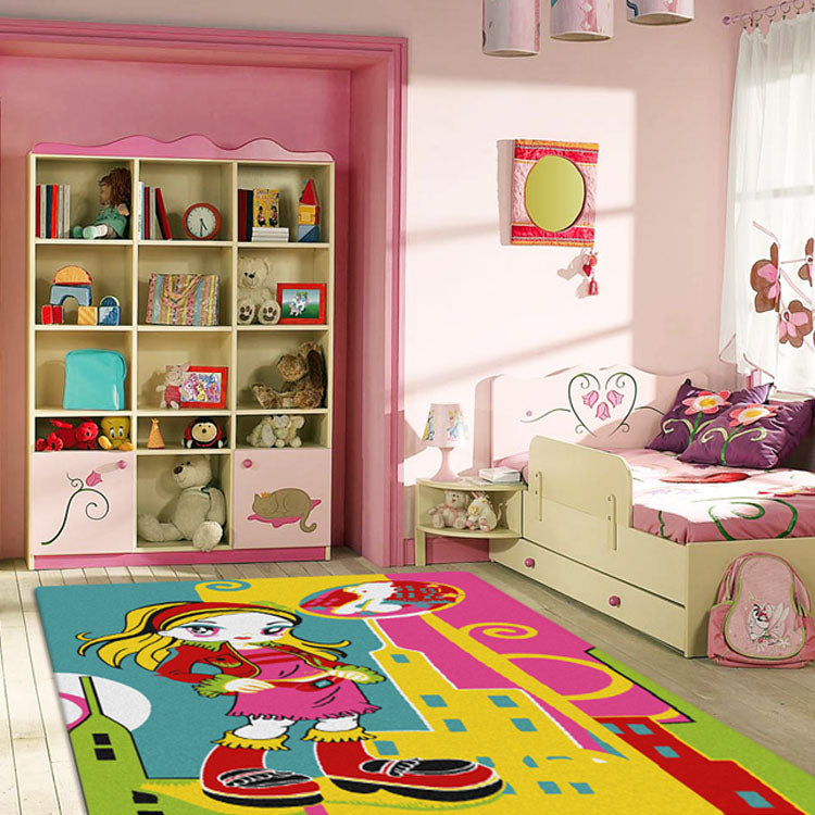 TrendyKids Girl Multi Rug