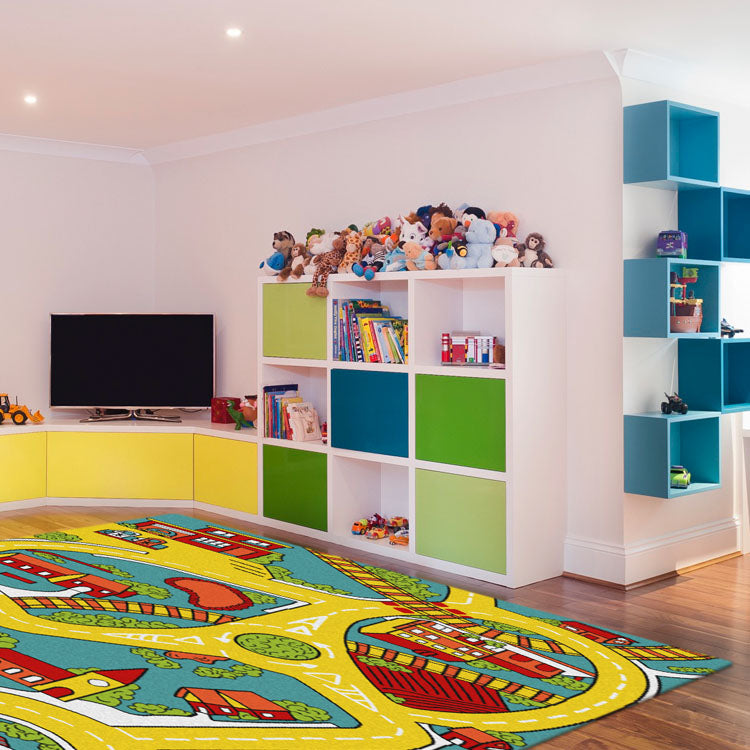 TrendyKids Road Multi Rug