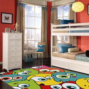 TrendyKids Bubble Multi Rug
