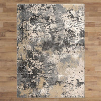 Central Citified Grey Runner Rug