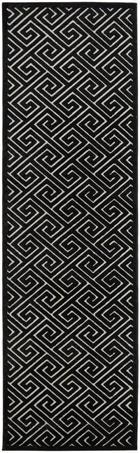 Edfu Truth Black & Gold Rug