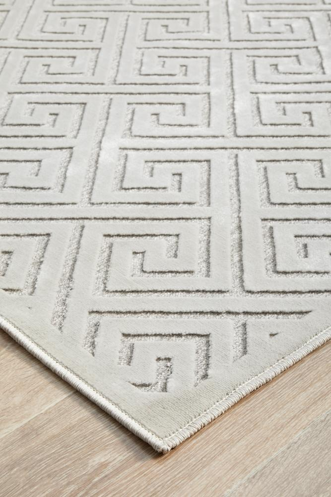 Edfu Truth Natural White Rug