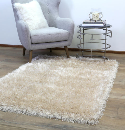 Evlee Shag Light Beige Rug