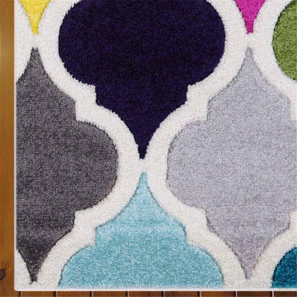 Colourful contemporary Rug