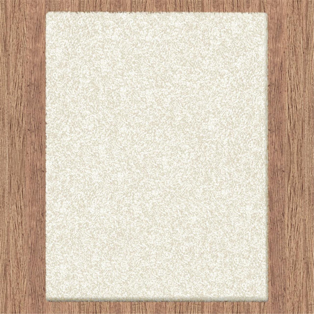 Comfort Shag Plain Cream Runner Rug