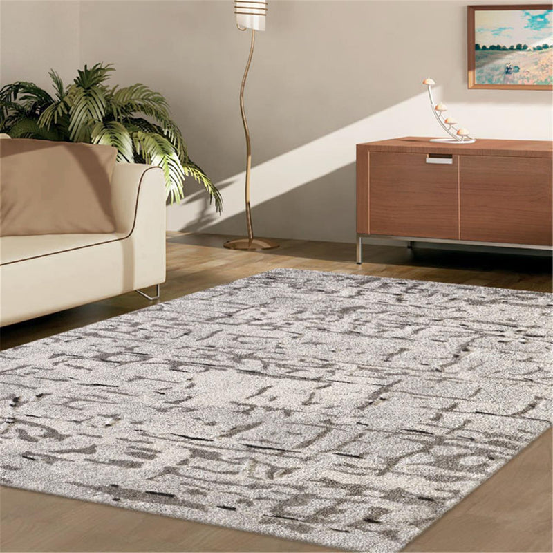 Oddson 9506 Light Grey Runner Rug