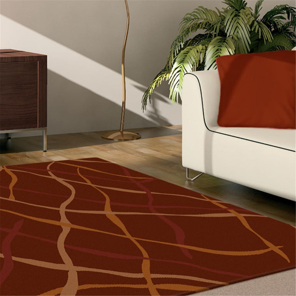 Prestige Position Red Rug