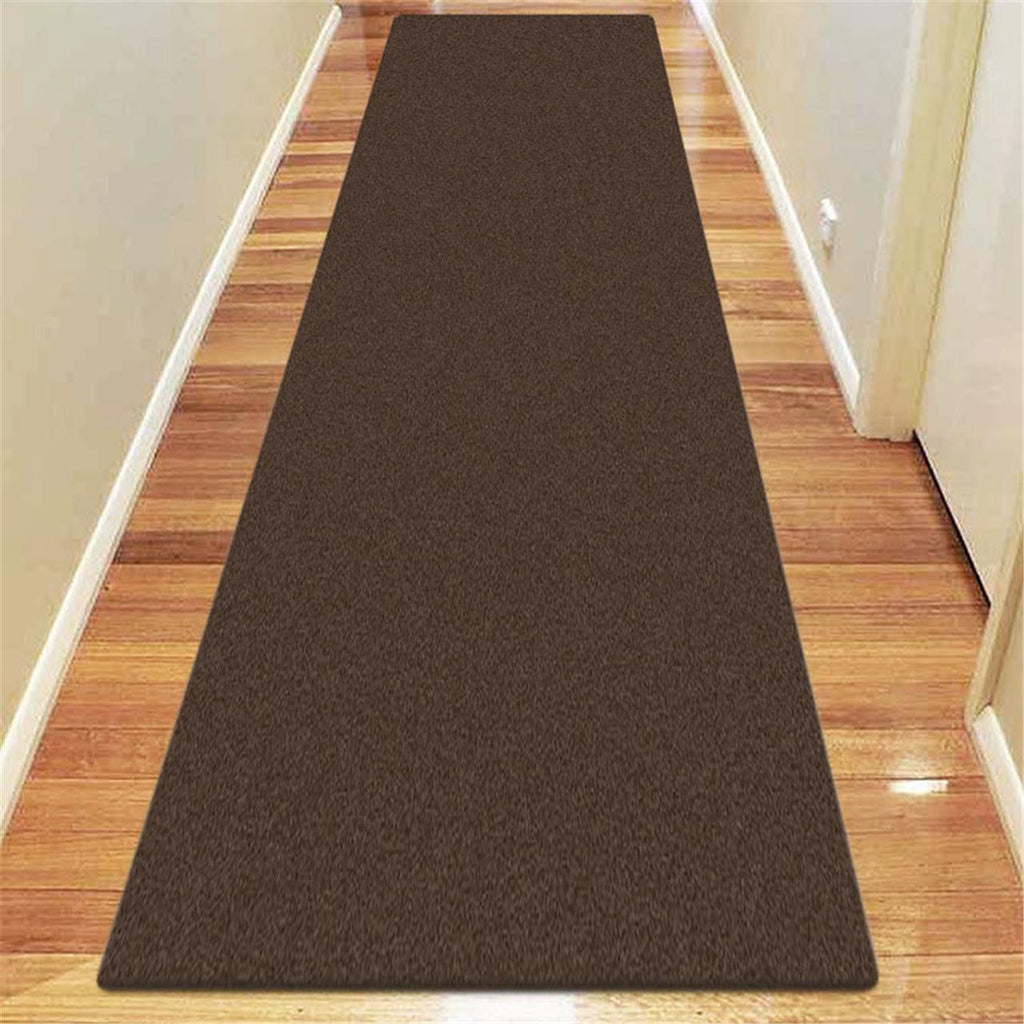 Prestige Status Brown Runner Rug