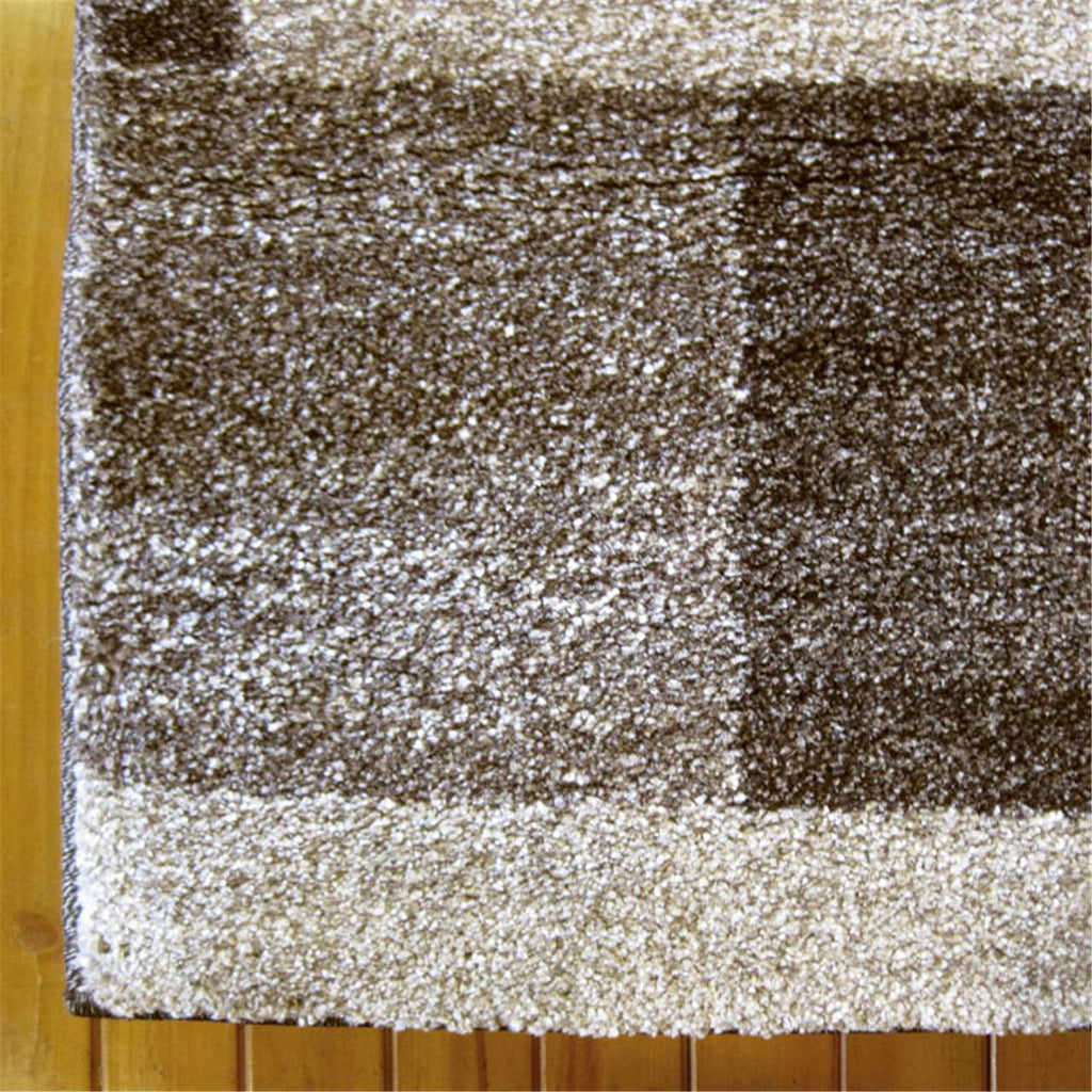 Prestige Place Brown Runner Rug
