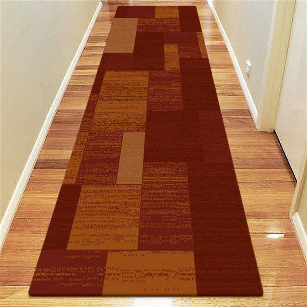 Prestige Place Red Runner Rug