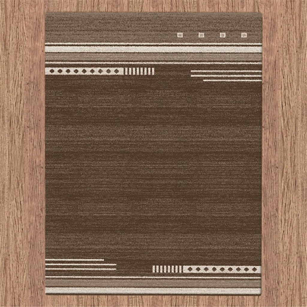 Prestige Bar Brown Rug