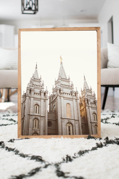 Salt Lake Temple Golden