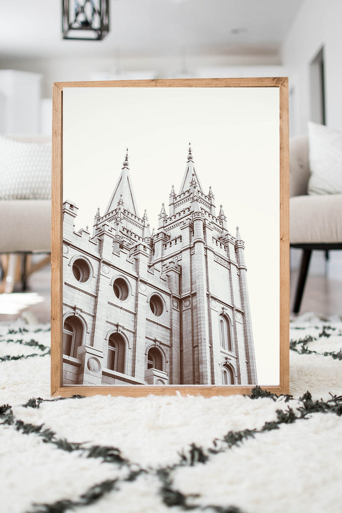 Salt Lake Temple Grey