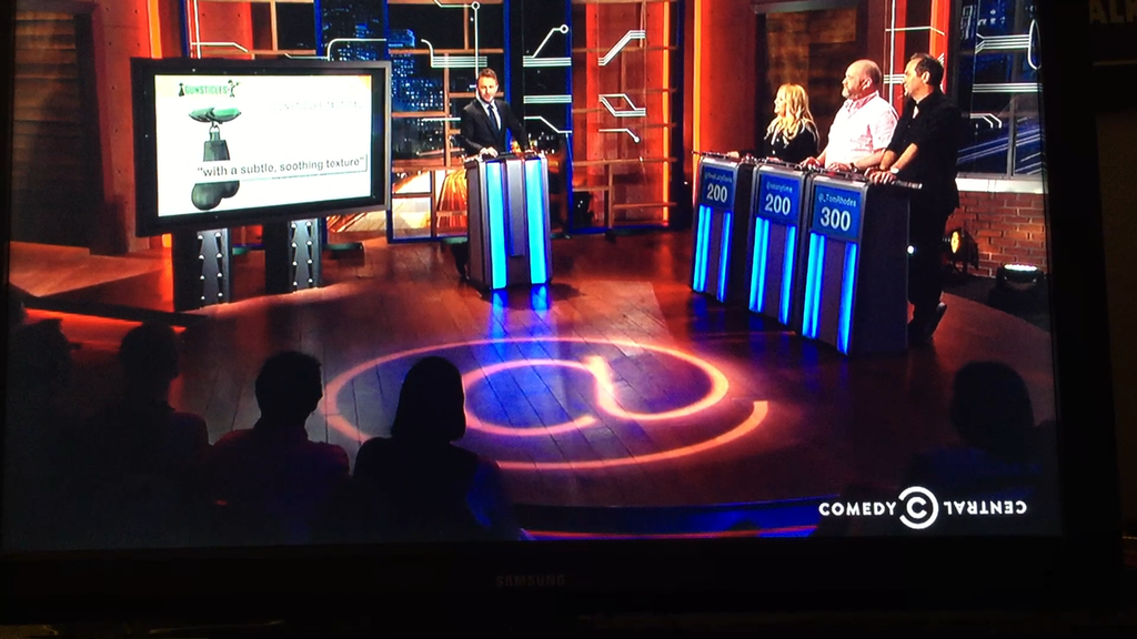 Gunsticles Featured on Comedy Central's @Midnight with Chris Hardwick!