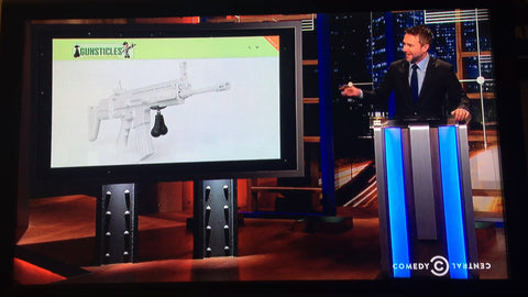 Gunsticles Tactical Testicles on Comedy Central