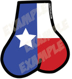 Tactical Texas Balls Sticker