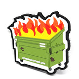 Dumpster Fire PVC Morale Patch