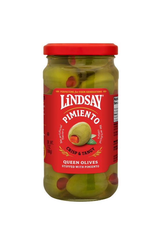 Spanish Queen Olives Stuffed with Pimiento (6 pack)