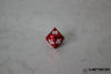 D% Meteor Polyhedral Metal Dice- Red