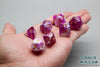 D.O.U Plastic Polyhedral Set - Marbelous Series - Purple