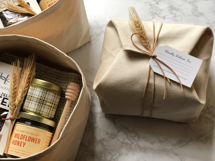 custom holiday gift boxes and client gifts from portland