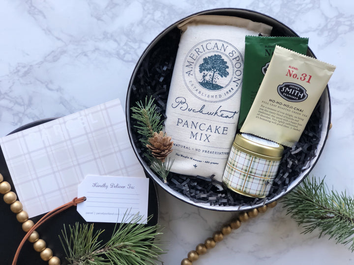 custom holiday gift boxes and business gifts from portland
