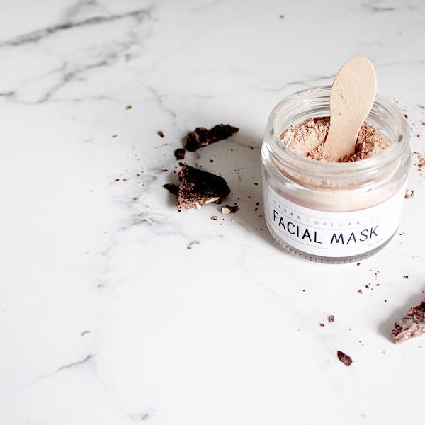 Raw Cacao Facial Mask Jar