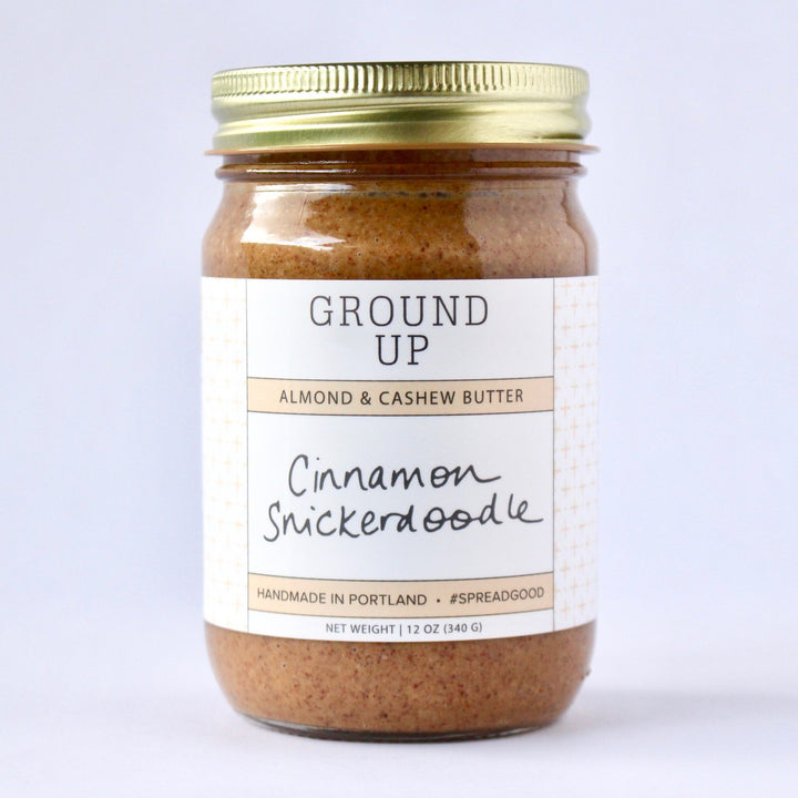 Cinnamon Snickerdoodle Almond & Cashew Butter