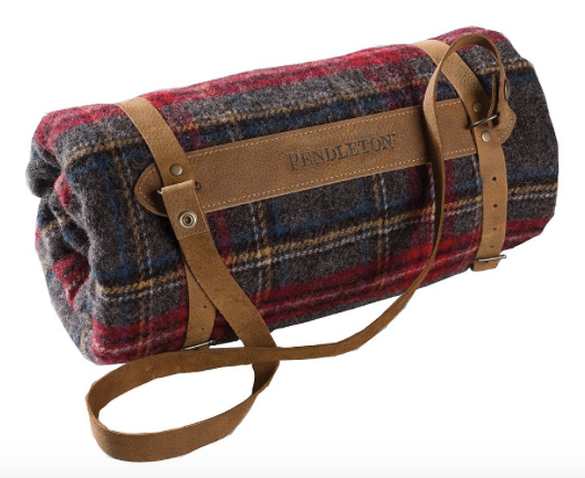 Picnic Blanket, Red Plaid