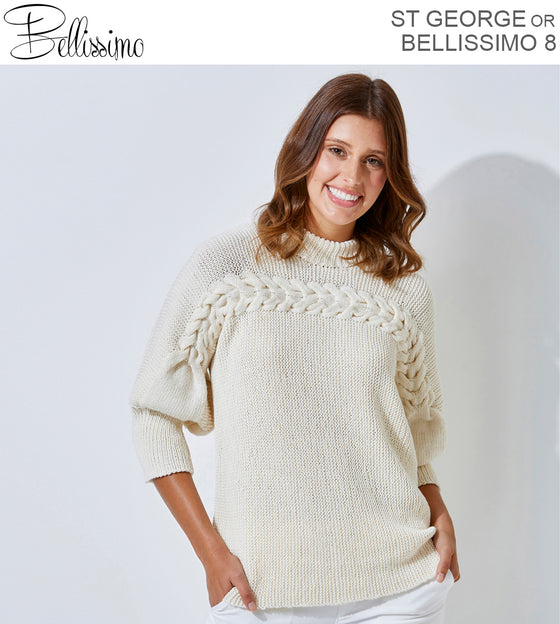 460 DOLMAN SLEEVE JUMPER