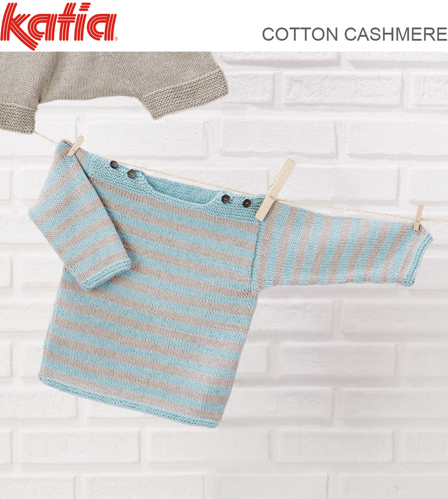 TX589 BABIES STRIPED JUMPER