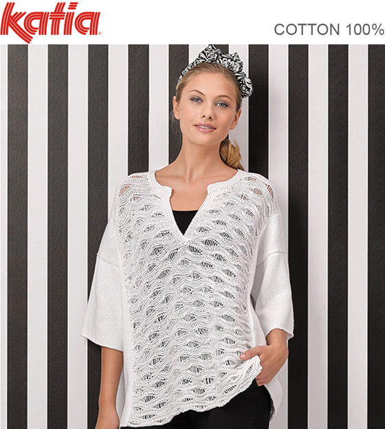 TX603 OPEN LACE TOP