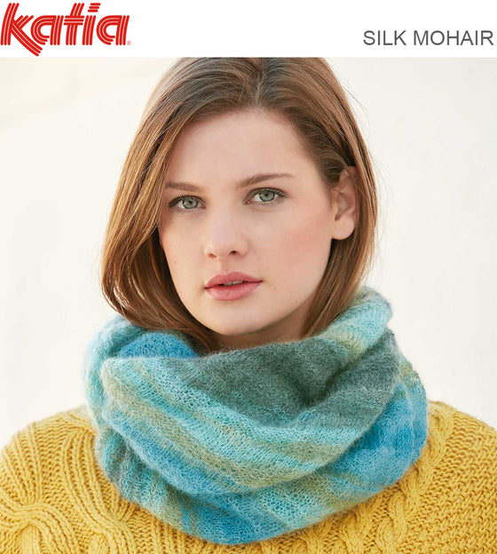 8808 SCARF/SHAWL - PATTERN ONLY