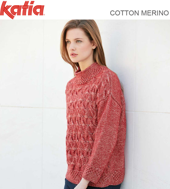 TEXTURED CABLED JUMPER 8818