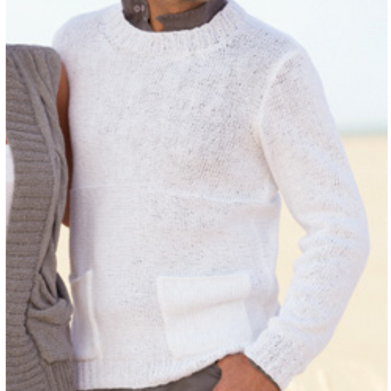 TX114 Linen Men's Sweater