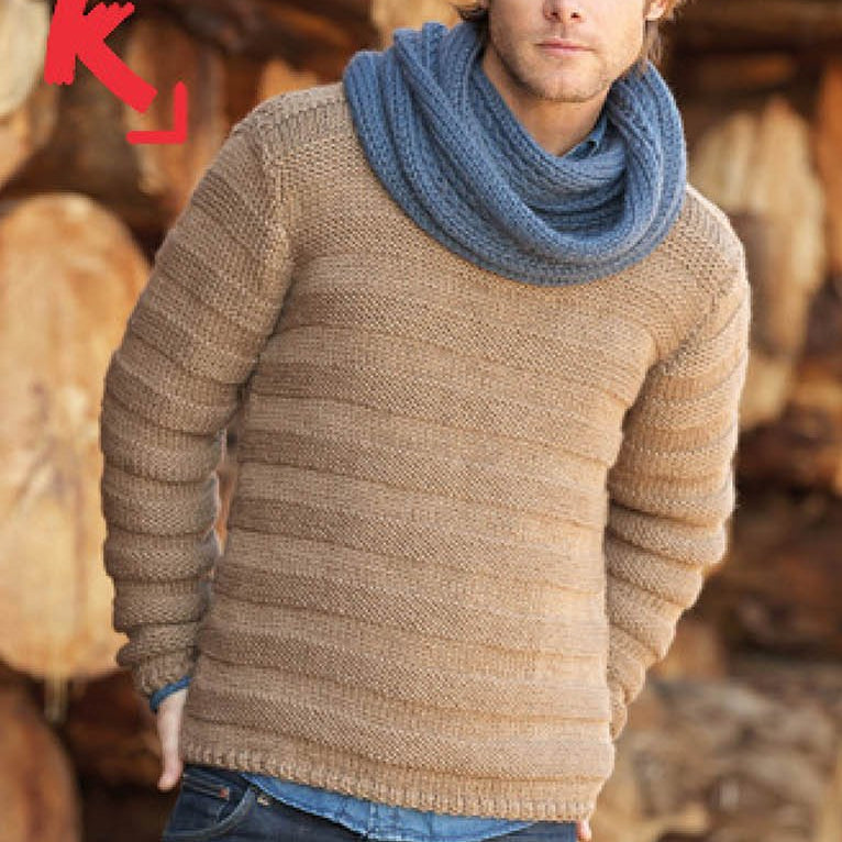 TX173 Katia - Peru Mens Sweater