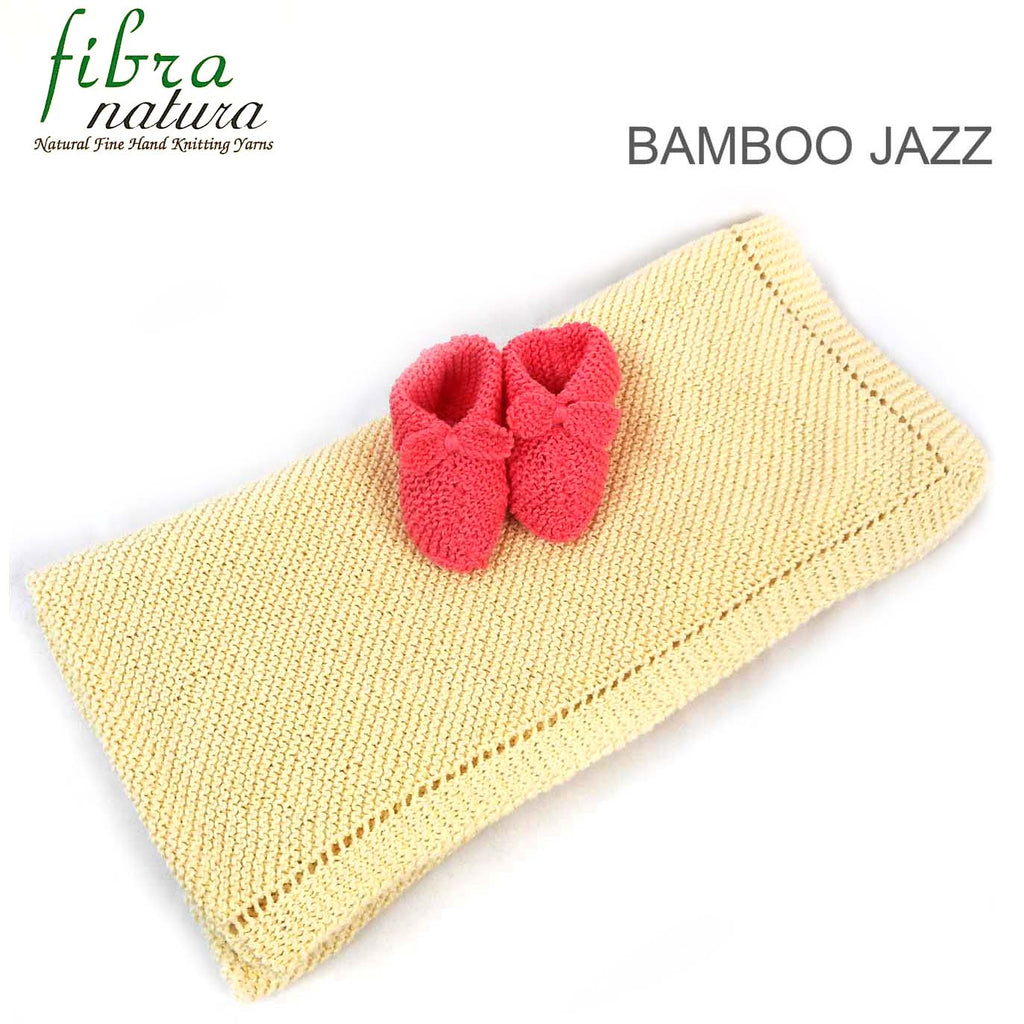 TX246 Bamboo Jazz or Bamboo Jazz Multi Blanket & Booties