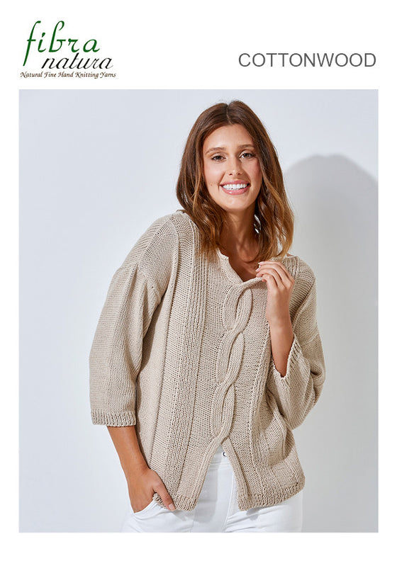TX260 Cottonwood Panel Sweater