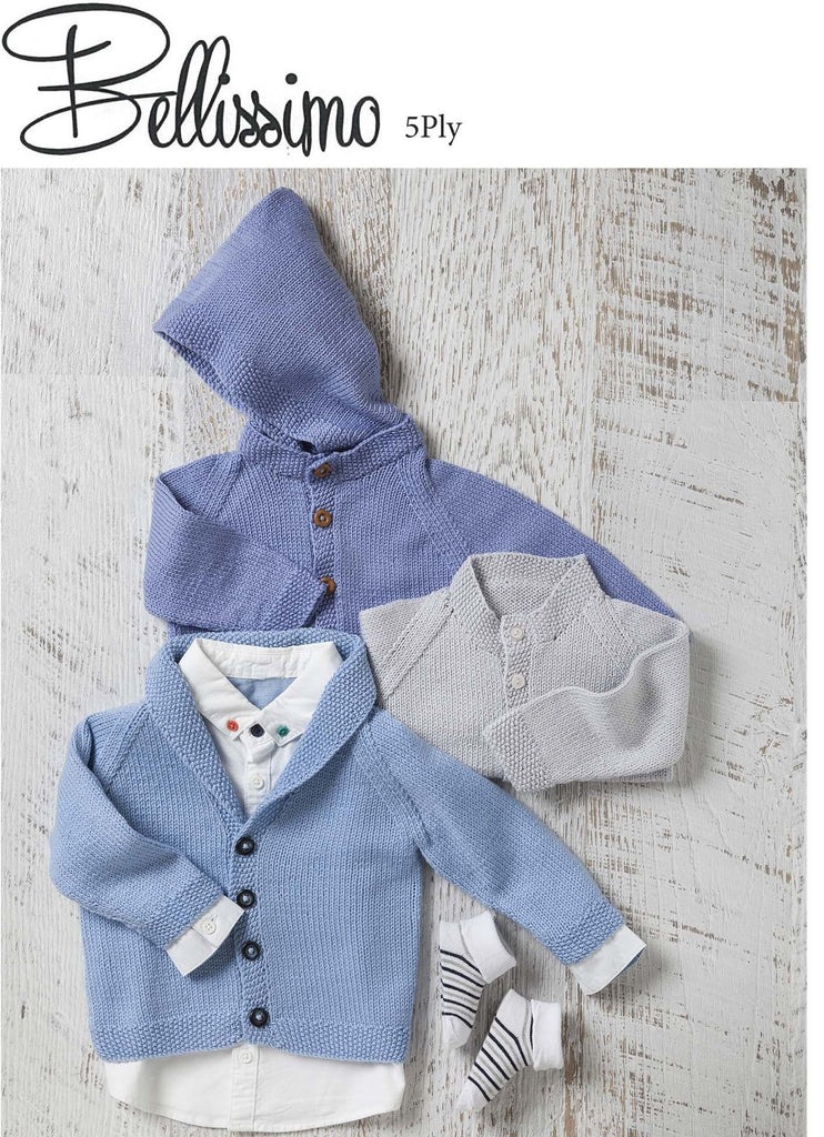 TX346 Bellissimo 5 Baby Classic Cardigans