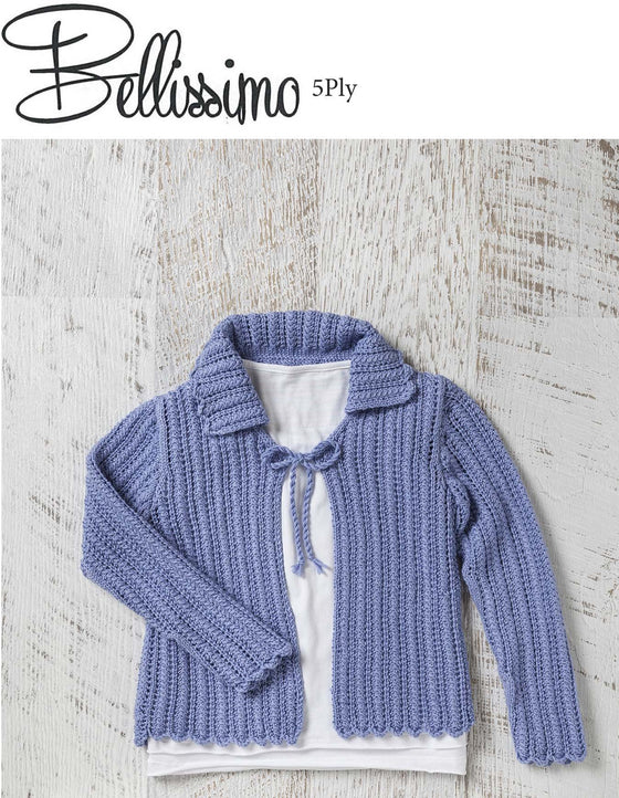 TX348 Bellissimo 5 Girls Lace Cardigan
