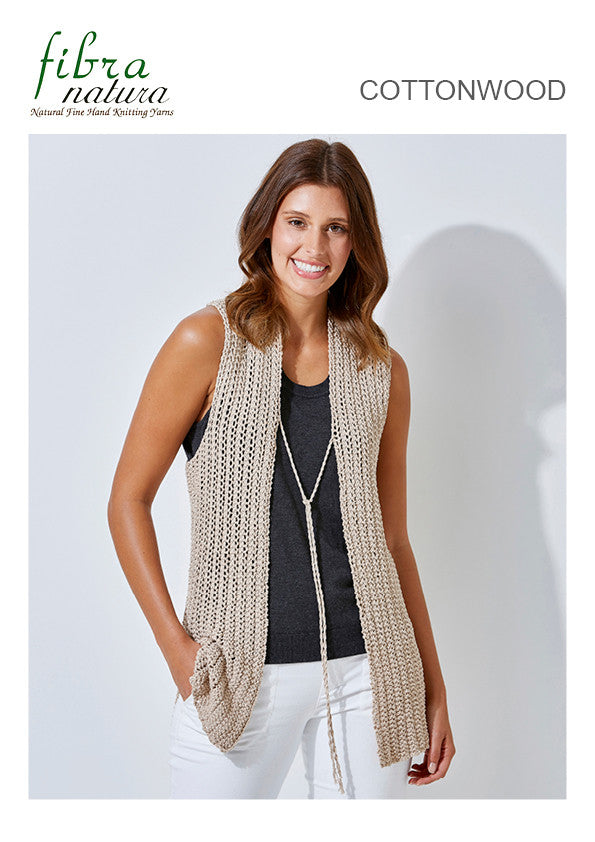 TX378 Cottonwood Lady's Vest