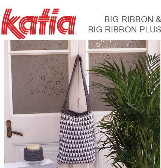 TX388 Big Ribbon or Big Ribbon Plus Crochet Bag